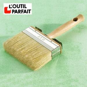 Brosse plate à peindre