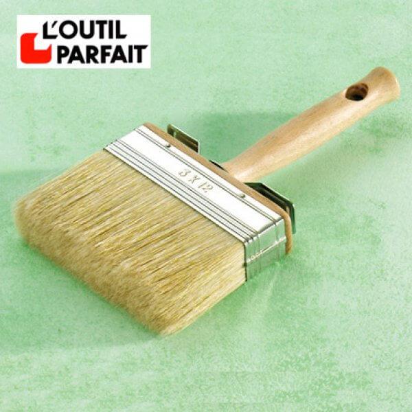 Brosse Plate À Peindre Et Badigeons - Eco Logis