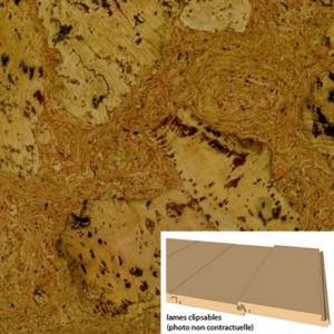 dalles de liège revêtement de sol