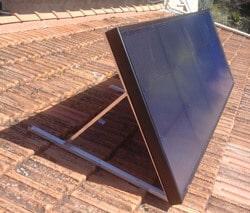 ventiler et chauffer gratuitement avec le capteur solaire air eco logis. Black Bedroom Furniture Sets. Home Design Ideas