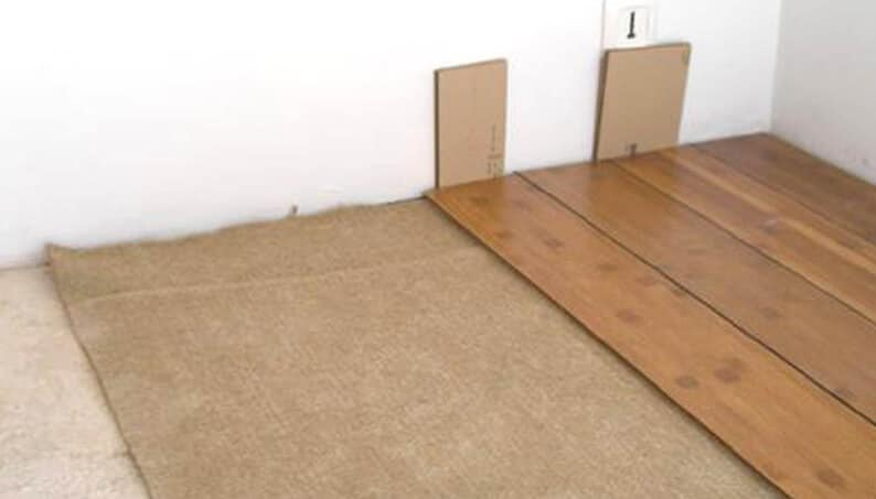 isolation phonique d39un parquet bois avec le feutre de chanvre With parquet isolation phonique