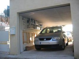 isolation d 39 un plafond de garage avec des plaques de li ge. Black Bedroom Furniture Sets. Home Design Ideas