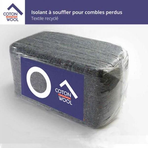 Cotonwool : Laine De Coton À Souffler Pour Combles Perdus
