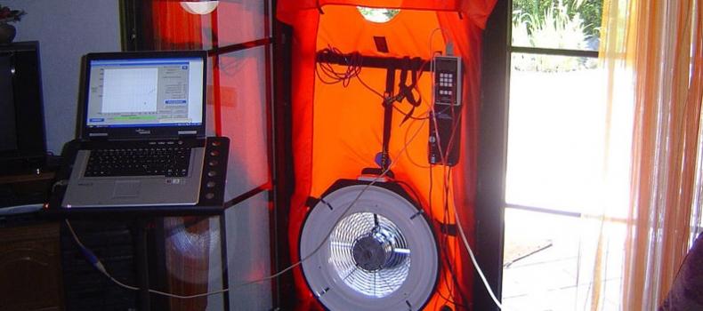 Le test «BBC Blower door»  étanchéité à l'air / infiltrométrie
