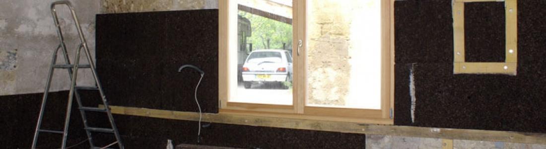 Isolation murs maison de village avec le li ge et enduit - Comparatif couches jetables ecologiques ...