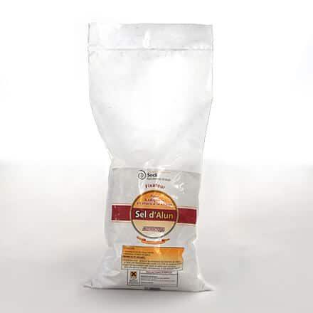 sel d'alun fixateur badigeons et stucs chaux