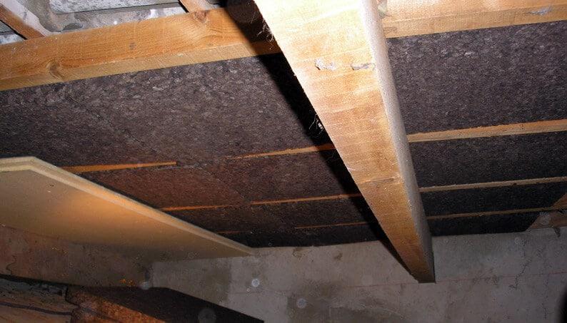 Isolation liege fibre de bois rampant eco logis for Isolation en fibre de bois