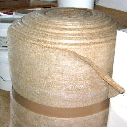 Sous-couche feutre de chanvre isolation phonique