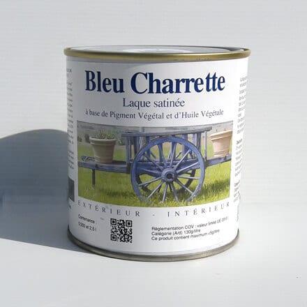 bleu charrette peinture naturelle au bleu de pastel clair eco logis. Black Bedroom Furniture Sets. Home Design Ideas