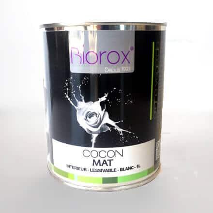 peinture mate int rieure et ext rieure cologique biorox cocon. Black Bedroom Furniture Sets. Home Design Ideas