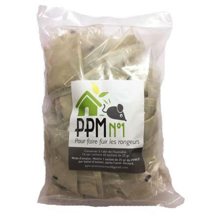 PPM 01 répulsif naturel des rongeurs dans les combles